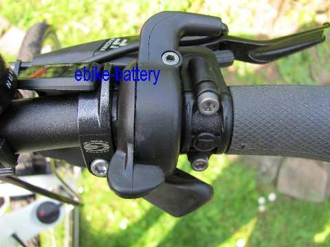 eBike Fahrrad Daumengas für BAFANG 8fun Mid-Drive Motor Umbausatz BBS01 BBS02 HD