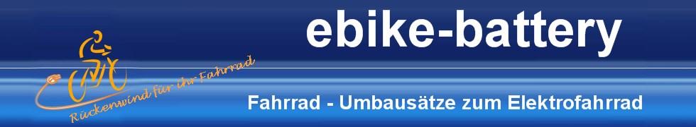 ebike-battery Umbausätze zum Elektrofahrrad